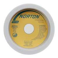 Batu Gerinda Norton Tool Grinding Wheel Straight Cup T6 38 A-60 JVBE White 305x150,0x127mm