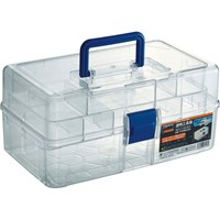 TRUSCO Transparent Tool Box TCRBOXN Clear