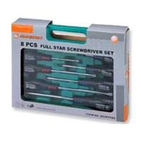 JONNESWAY Full Star Screwdriver Set D04PP16S
