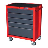 YAMOTO Roller Cabinet Red 5drawers