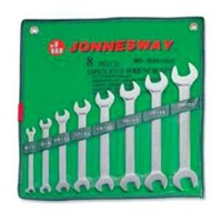 JONNESWAY Open End Wrench Set W25108S