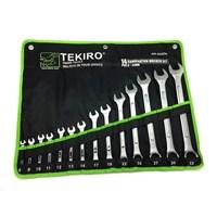 TEKIRO Combination Wrench Set ( Kunci Ring Pas Set) WR-SE0296 8-24mm