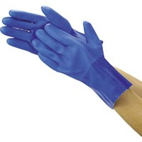 Jual Sarung Tangan Safety trusco Oil Resistant Vinyl Gloves (Lined) TGL230M Blue M