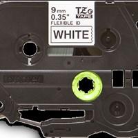 Jual Brother Flexible Tape TZE-FX221 Black on White 9mm