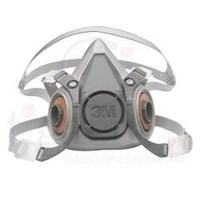 Jual Masker Safety 3M Respirator 6200 (tanpa filter)