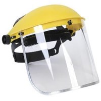 Jual Helm Safety Krisbow Face Shield Head Gear With Clear Visor