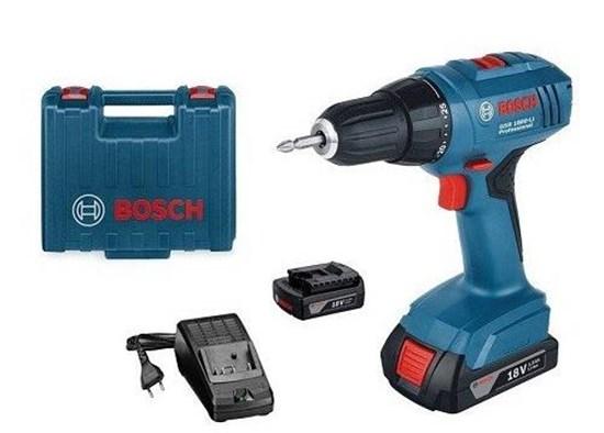 Picture of Cordless Screwdriver Bor Bosch 18 V Li-Ion Gsr 1800 Li