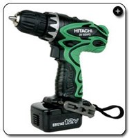 Jual Cordless Screwdriver Hitachi 12 Mm 12 V 1.5Ah