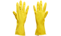 "Picture of Sarung Tangan Safety Leopard Household Latex Gloves 12"" Lplg 0314"