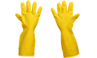 "Picture of Sarung Tangan Safety Leopard Household Latex Gloves 15"" Lplg 0315"
