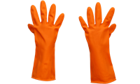 "Picture of Sarung Tangan Safety Leopard Industrial Latex Gloves 13"" Lplg 0316"