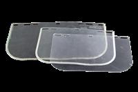 Jual Pelindung Wajah Leopard Face Shield Clear W  Alm Edge 1Mm X 15 X 8 0140