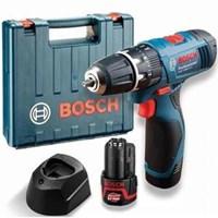 Jual Cordless Screwdriver Bosch Gsb 1080-2-Li - 2 Baterai  + Extra Bonus Obeng
