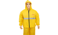 Jual Pakaian Safety Leopard Breathable Rain Coat B - C Lp 0288
