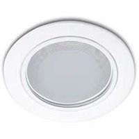 Jual downlight Philips Essential  13804 glass recs  1*18w white