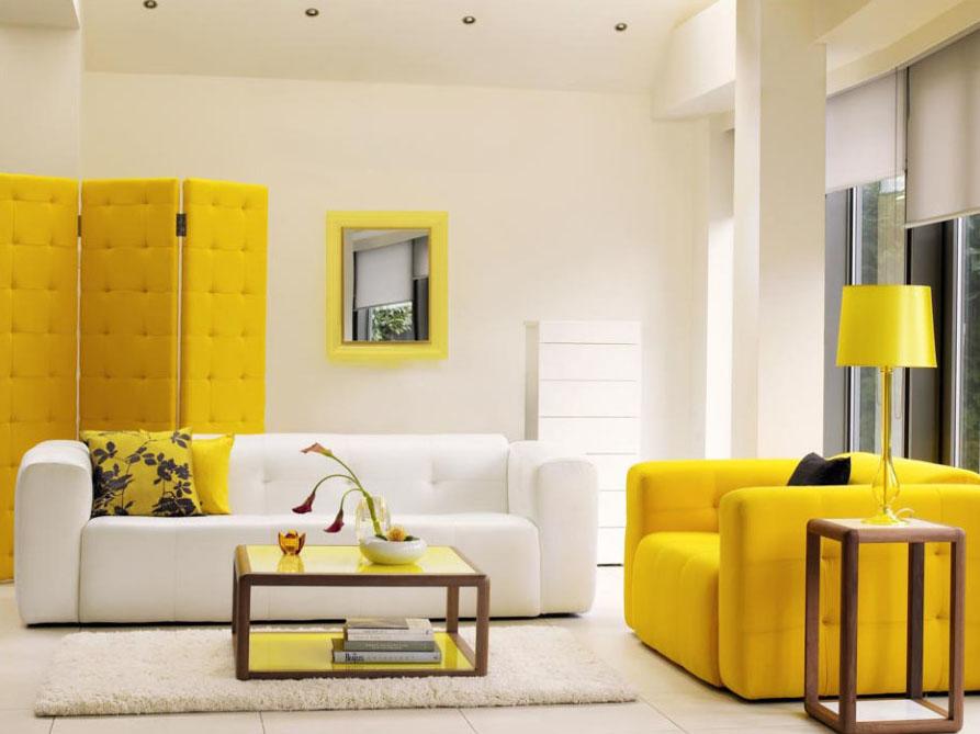 Mengatur Mood Dengan Dinding Warna Kuning Rumah 123