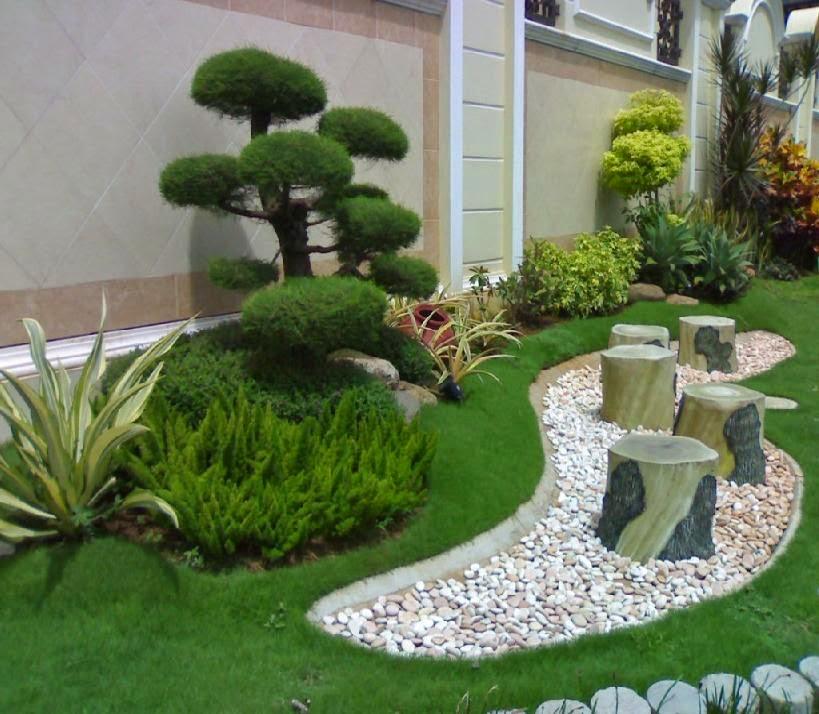 Cara Mendesain Taman Minimalis Rumah 123