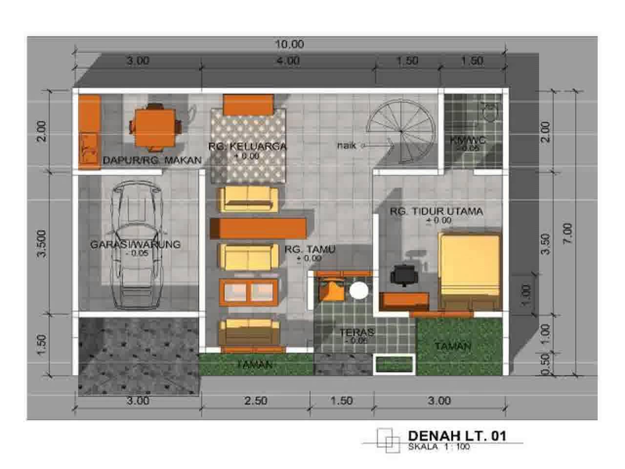Denah Rumah Sesuai Fengshui Kreasi Rumah