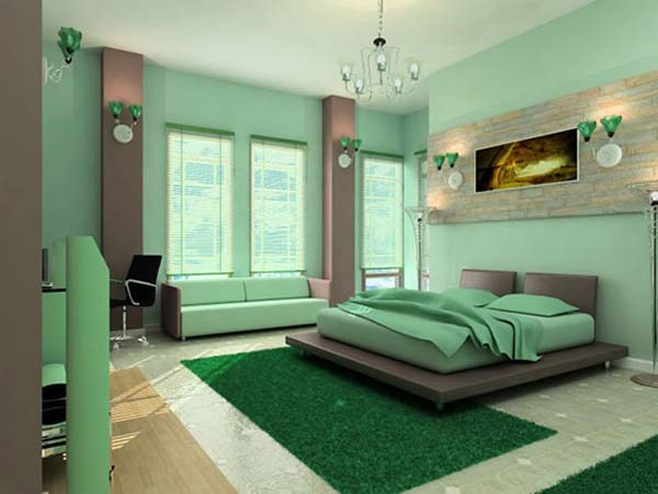 Memilih Warna Cat Kamar Minimalis Rumah 123