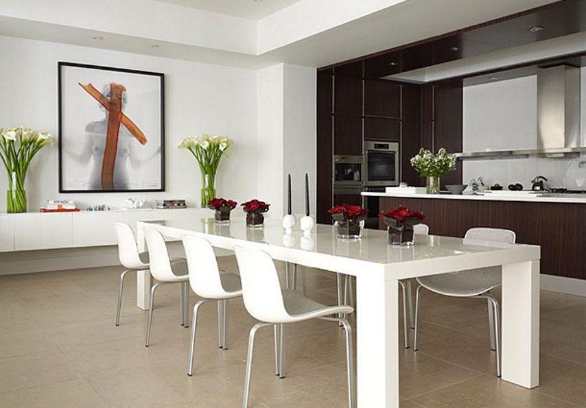 Dekorasi Ruang Makan Mini Bar Modern Rumah 123