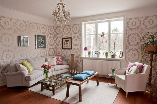 Mempercantik Ruangan Dengan Wallpaper Rumah 123