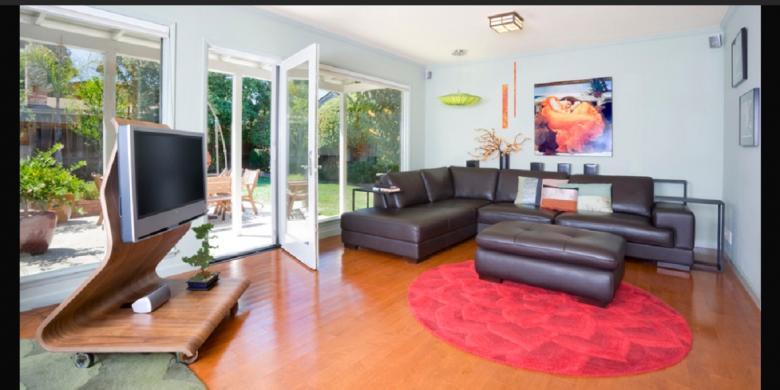 Ruang Keluarga Jangan Untuk Nonton Tv Saja Rumah 123
