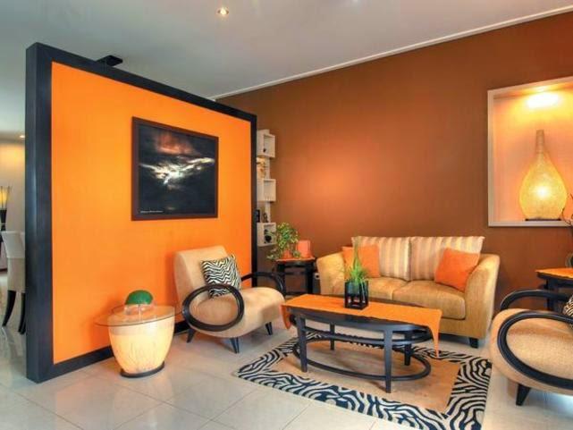 8800 Gambar Rumah Cat Warna Orange Gratis Terbaru