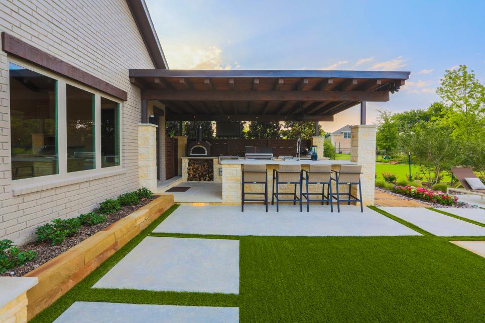 8 Inspirasi Desain Dapur Outdoor Rumah 123