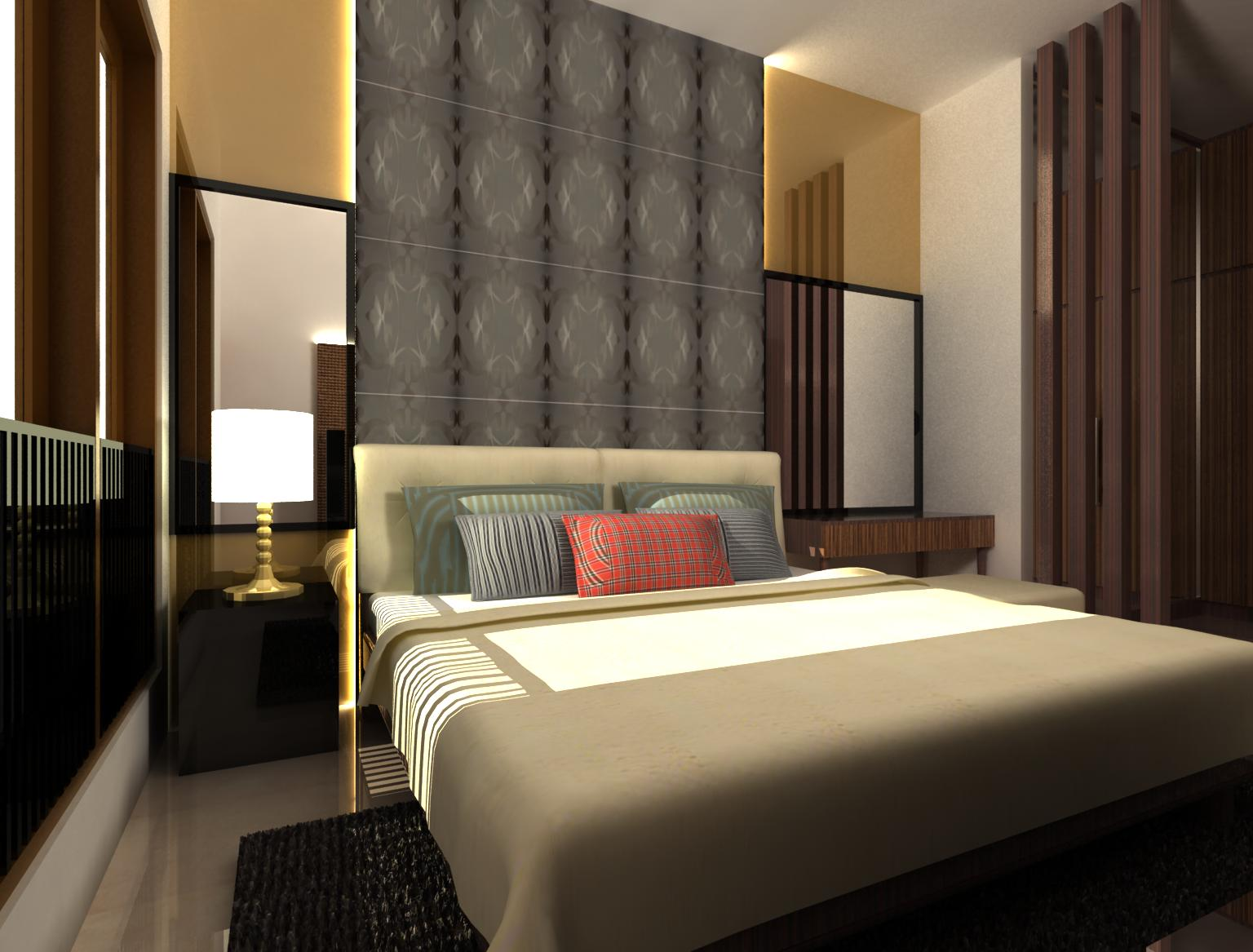 syarat interior kamar tidur pasangan muda   rumah 123