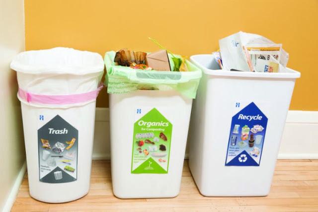 Hasil gambar untuk tempat sampah dalam rumah