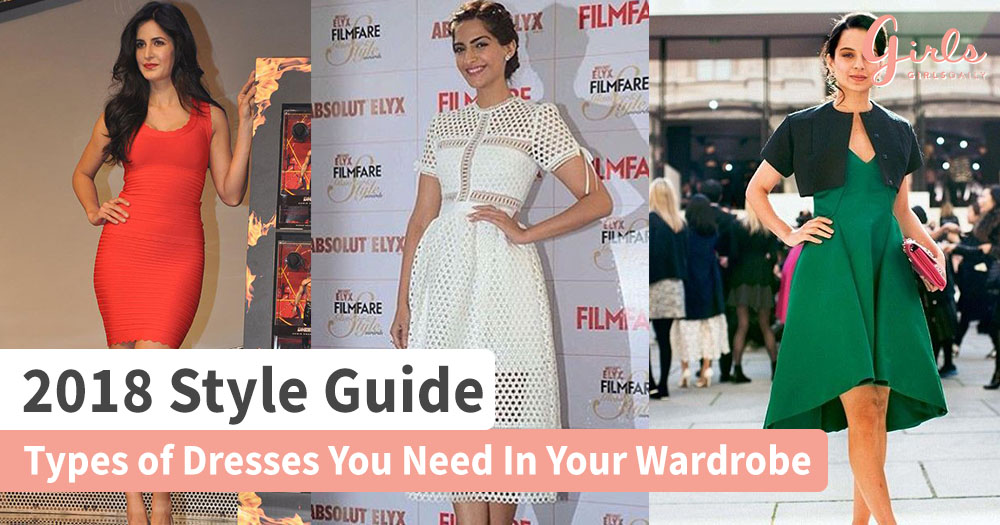 2018 Style Guide : Dresses To Have In Your Wardrobe