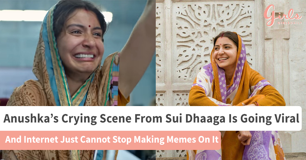 Anushka's Expression From Sui Dhaaga Turns Into Funny Memes