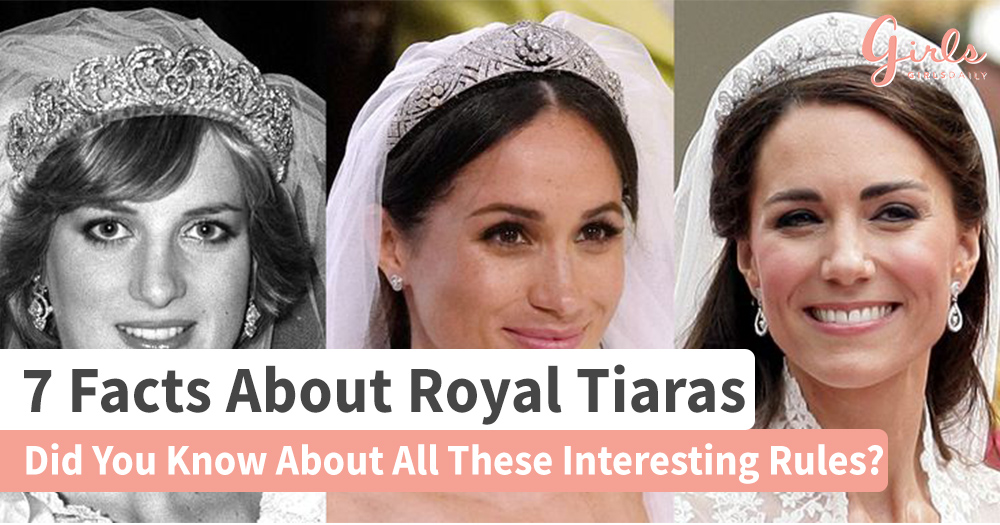 7 Facts You Probably Didn't Know About Wearing A Royal Tiara