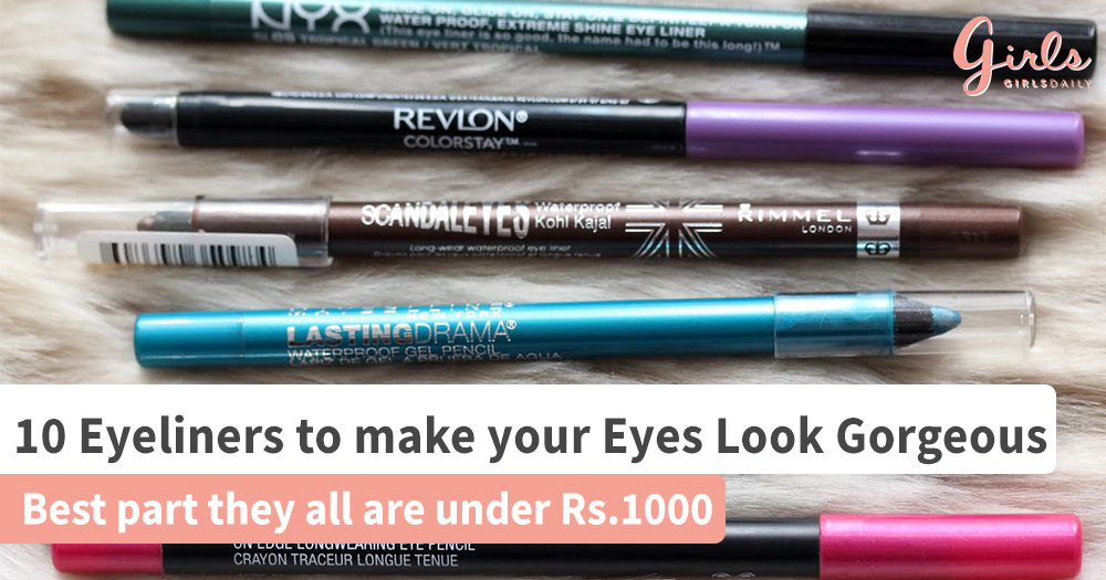 10 amazing Affordable Eyeliners that you need in your Life!