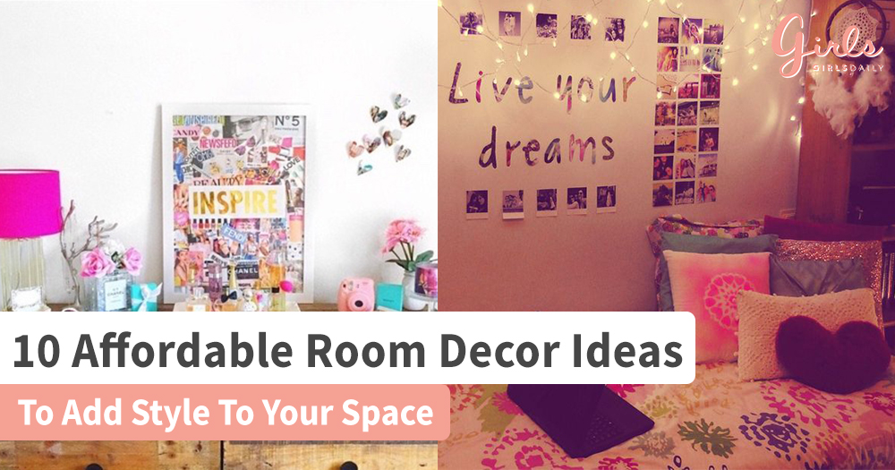 10 Low Budget Room Decorating Tricks For A Chic Makeover