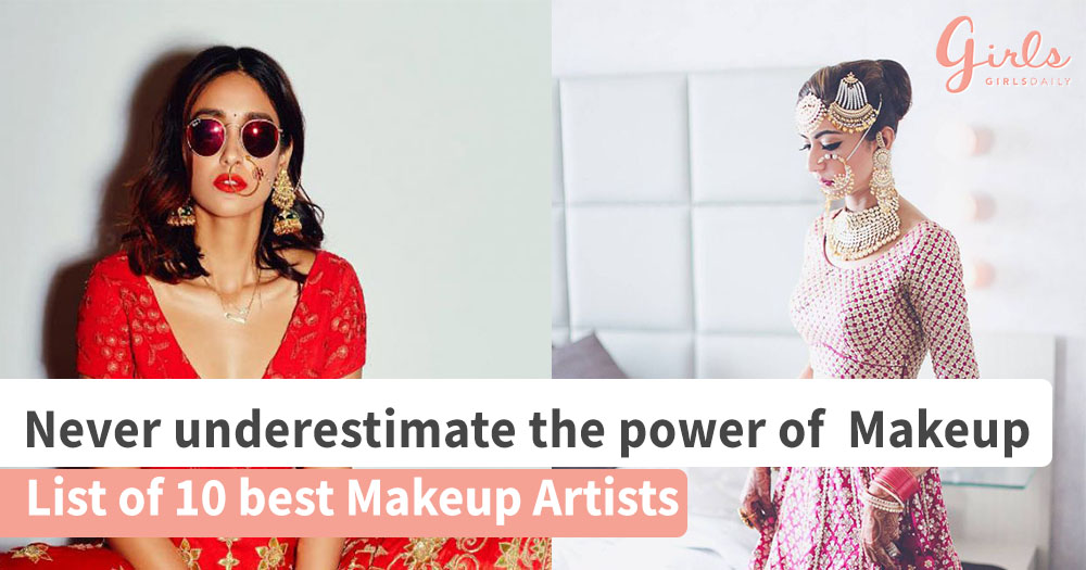 Top 10 bridal makeup artists in India