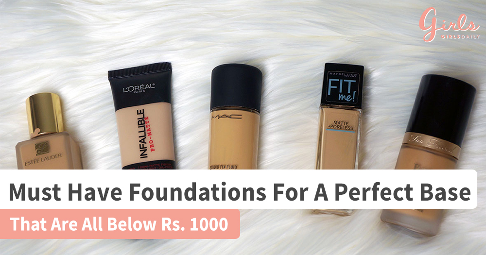 7 Affordable must have Foundations!