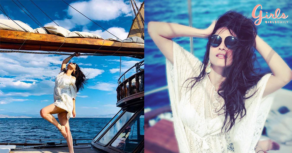 Ankita Lokhande Sizzles In Greece!!!