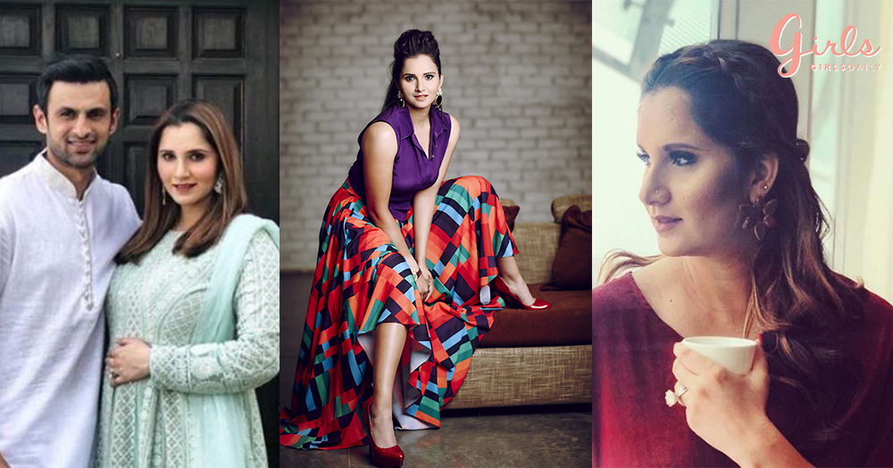 Mom-To-Be Sania Mirza Is Slaying It In Vogue & Giving Us Major Long Distance Couple Goals