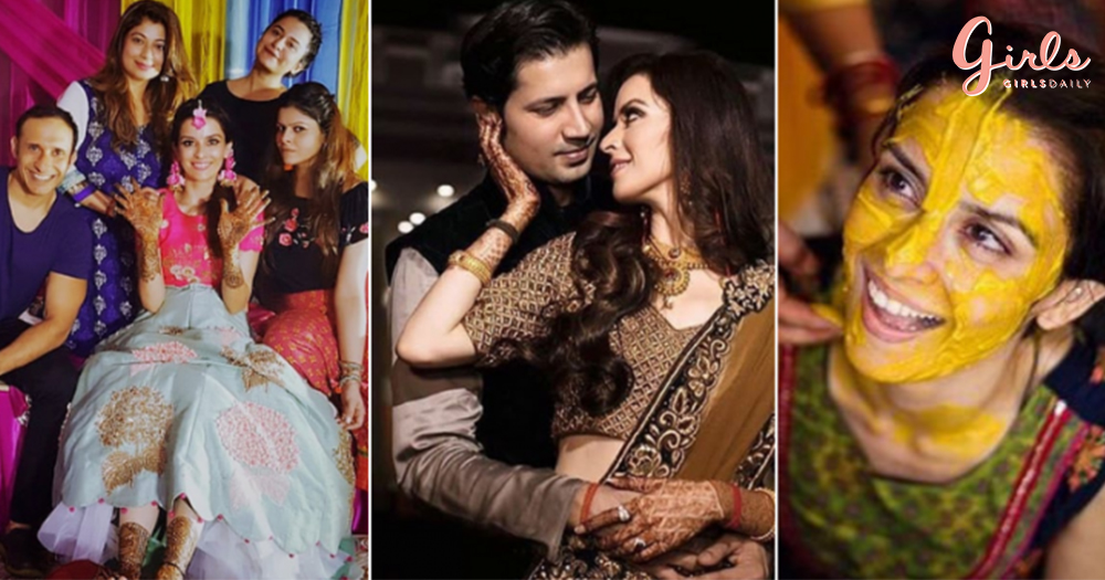 #PhotoDiaries: Sumeet Vyas & Ekta Kaul's Perfect Weekend Wedding