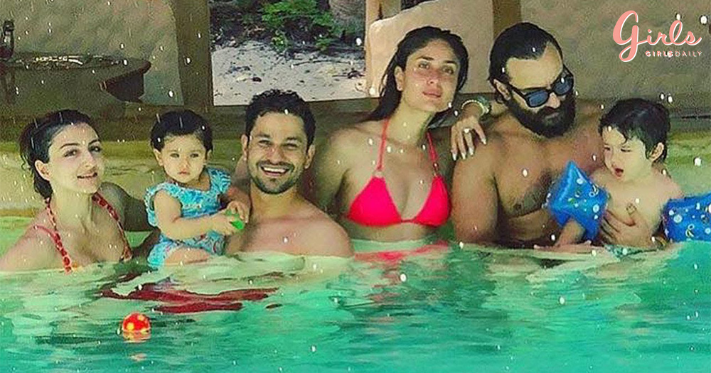 Taimur and Inaaya Are Holidaying With Their Mommy & Daddy In Maldives!