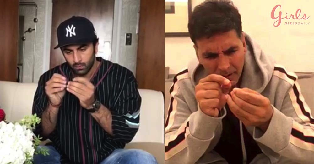 Celebs Taking Part In #SuiDhaagaChallenge