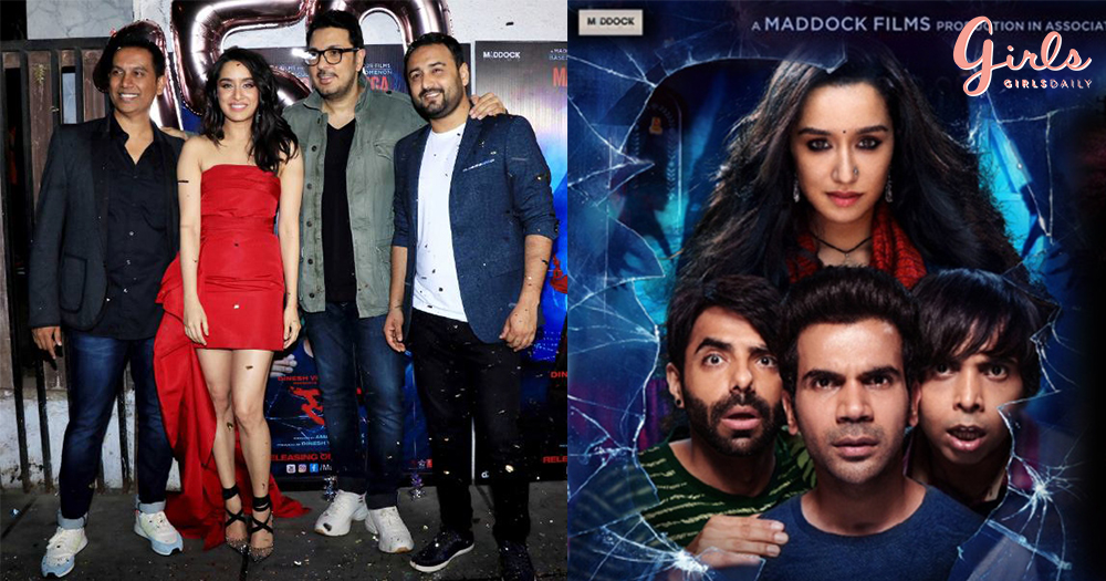 "Celebrities Shine At ""Stree's"" Success Bash!!"
