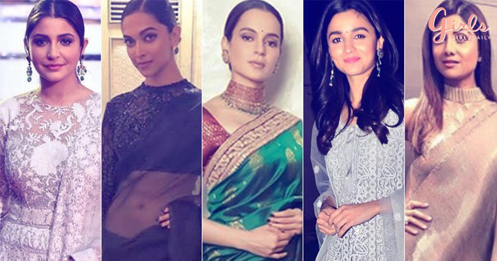 #NavratriSpecial: Bollywood Celeb Inspiration To Wear 9 Colours Of Navratri