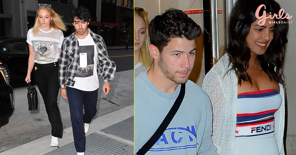 PC and Nick Double Date In New York