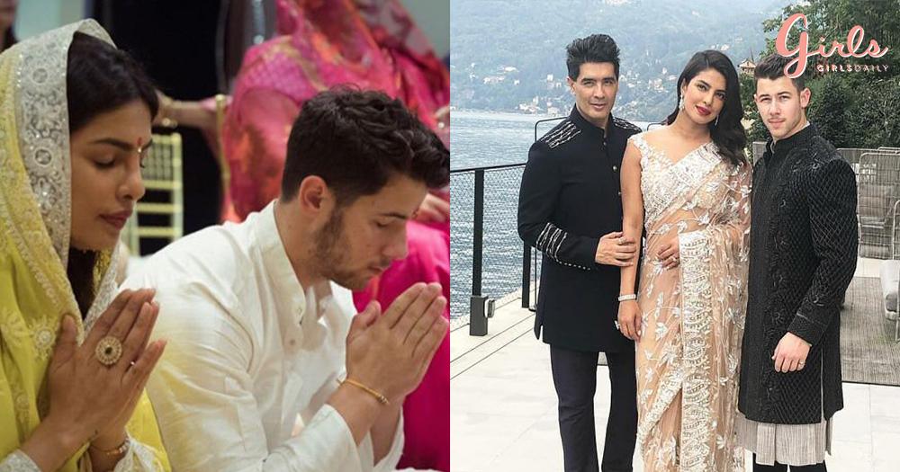 Priyanka Chopra To Dazzle In Manish Malhotras Lehenga For Her