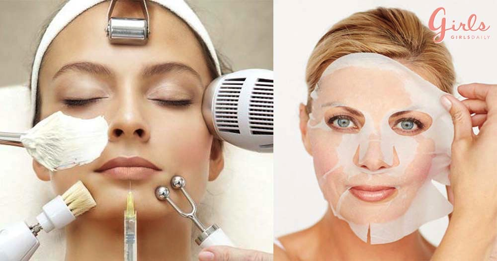 Different Types Of Beauty Treatments For Glowing And Spot Free Face