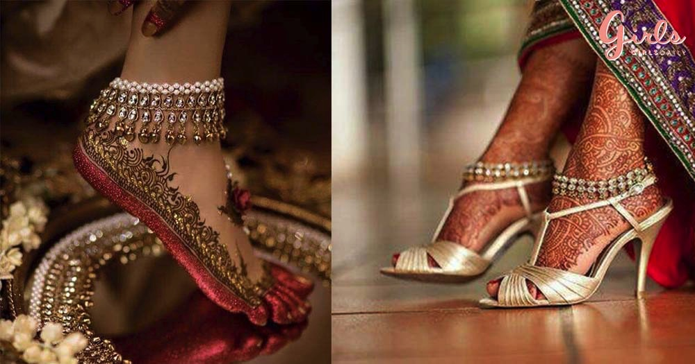 7 Different Types Of Payal For This Wedding And Festive Season!!