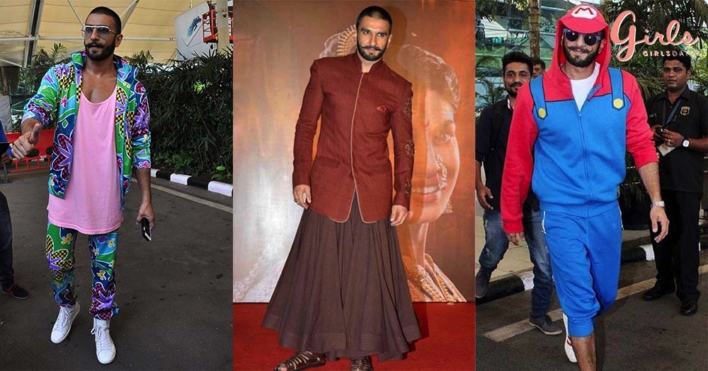 14 ATRANGI Outfits Of Ranveer Singh That Left Us Speechless