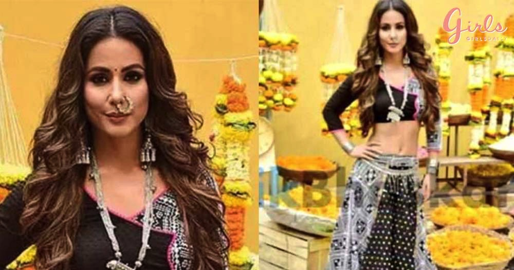 Hina Khan Looks Steaming Hot In Her First Look As KOMOLIKA